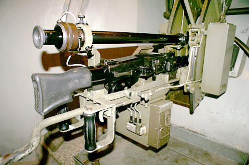 Kampfstände Maschinengewehr