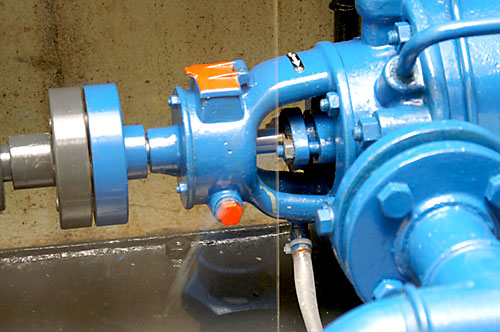 Kaserne Druckwasserpumpe