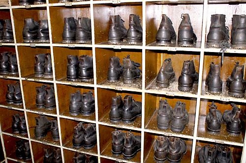 Kaserne Schuhgestell