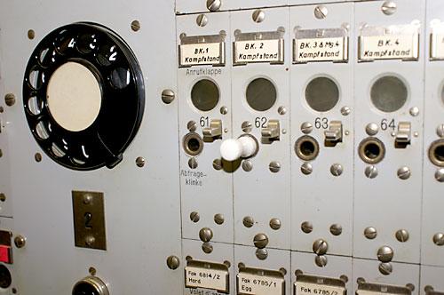 Kaserne Telefonzentrale