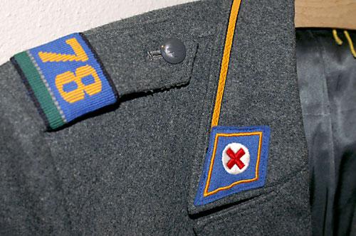 Kaserne Uniformbesatz