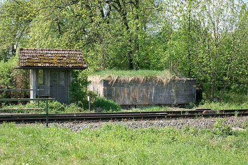 Rundgang Bunker am Bahndamm