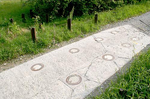 Rundgang Sperre obere Heldsbergstrasse