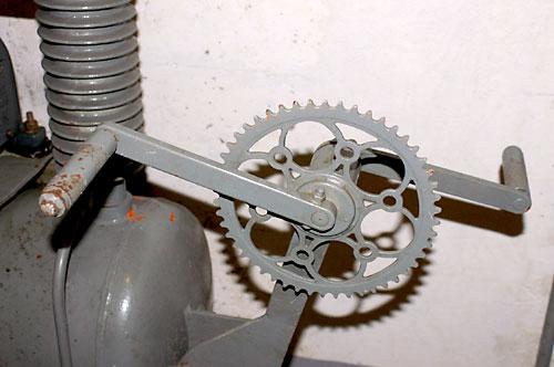 Technik Notantrieb für Kompressor