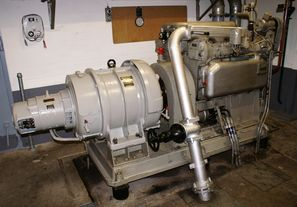 Diesel 1 (Nr. 281) mit BBC Generator